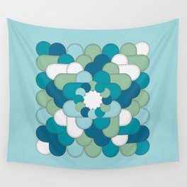 Patched Up Wall Tapestry