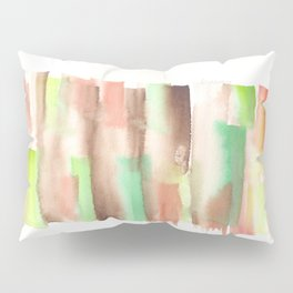 [161228] 14. Abstract Watercolour Color Study |Watercolor Brush Stroke Pillow Sham