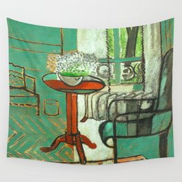 Henri Matisse The Green Room Wall Tapestry