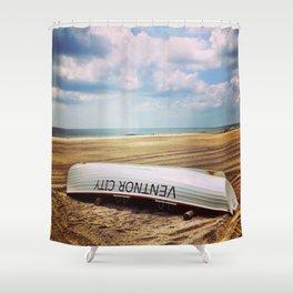 Ventnor Beach Shower Curtain