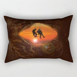 Sunset Climbers Rectangular Pillow