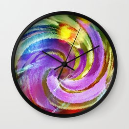Spring is Springing Wall Clock
