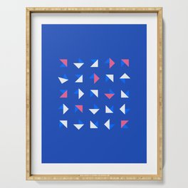 Geometrica - Color Study - 1/14/2019 - Graphic Art Print Serving Tray