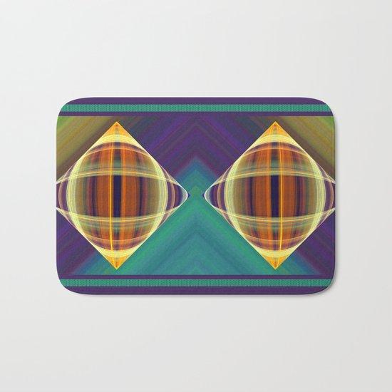Graphic illusionism Bath Mat