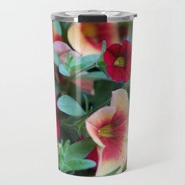 Petunias Travel Mug