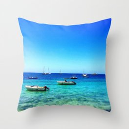 Vieques Floats Throw Pillow