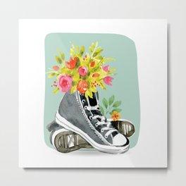 Herbal Shoes Metal Print