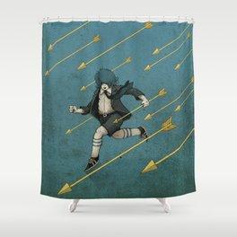 Run. Shower Curtain