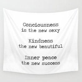 Redefining sexy, beautiful, successful. Wall Tapestry