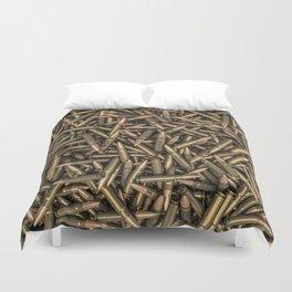 Rifle bullets Duvet Cover