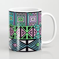 aztec Mugs featuring Aztec by Fimbis