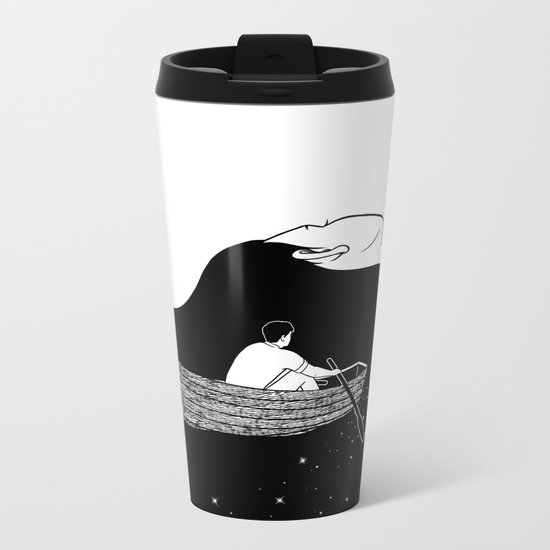 Rowing to you Metal Travel Mug