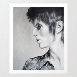 Ziggy Played Guitar Art Print