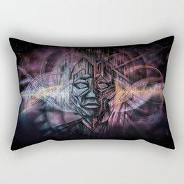 Sonic Excursions Rectangular Pillow
