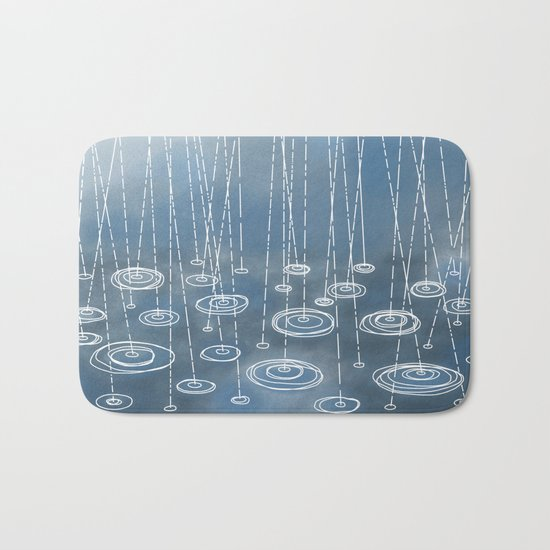 Another Rainy Day Bath Mat
