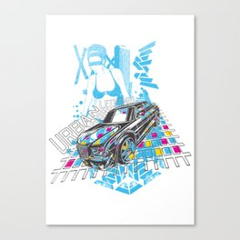 Urban Legend Canvas Print