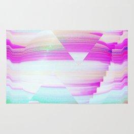 Future aesthetic Rug