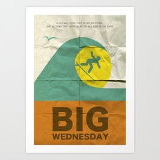 Big Wednesday Art Print