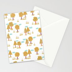Butterfly Garden - Trees Stationery Cards