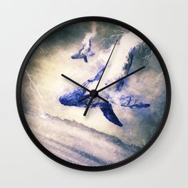 A Lighthouse Called Sedna Wall Clock