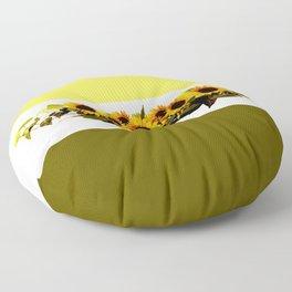 Tournesols, unisexe et tendance... Floor Pillow