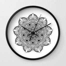 Mandala handmade Drawing, Decoration, Mandala Art, Zen Art Wall Clock