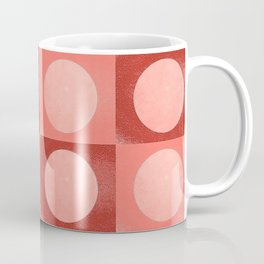 New York Moon Minimalism Living Coral Jester Coffee Mug