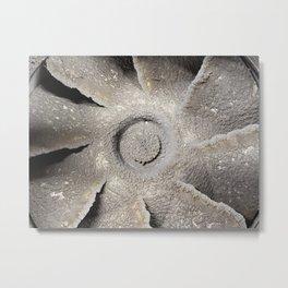 Dirty Turbine Metal Print
