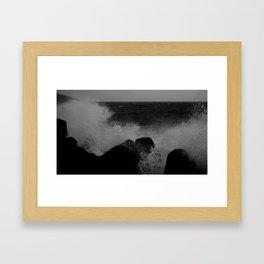 sea02 Framed Art Print