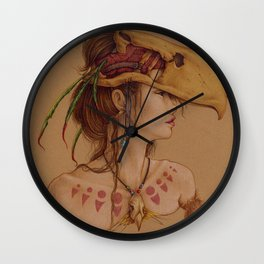 Titanis Walleri Wall Clock
