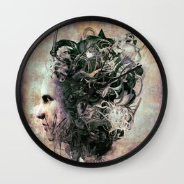Existentialism Wall Clock