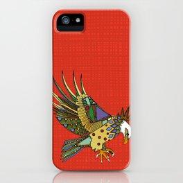 jewel eagle fire iPhone Case