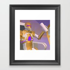 Drink QT Framed Art Print