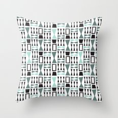 Bowtie Required White Throw Pillow
