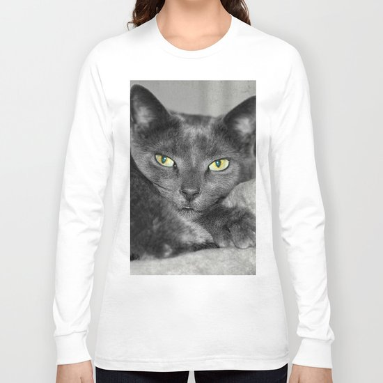 Cats Eyes Long Sleeve T-shirt