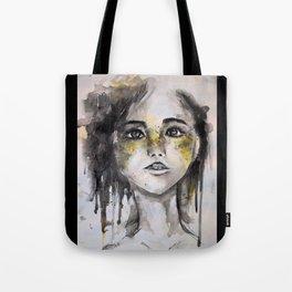 HER, A Watercolour Portrait Tote Bag