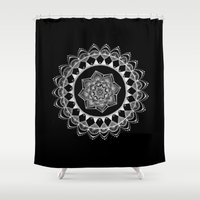 introvert Shower Curtains featuring The Introvert by JWRIGGS