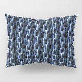Teal Chains Pillow Sham