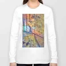 Labradorite Macro Long Sleeve T-shirt