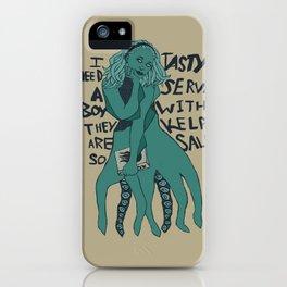 I Need a Boy iPhone Case