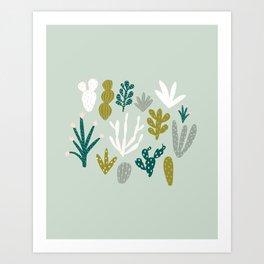 Succulent + Cacti Dreams Art Print