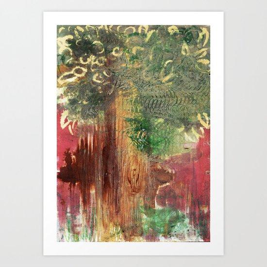 Mighty Tree Art Print