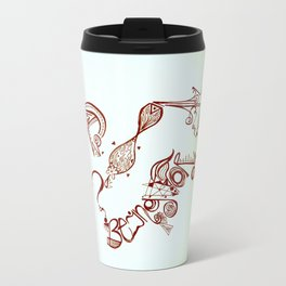 fear of being ordinary Travel Mug