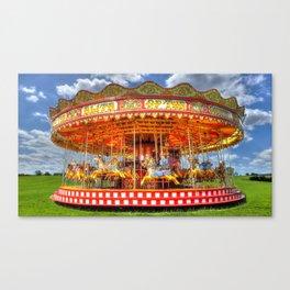 Carousel Merrygoround Canvas Print