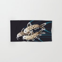Leopard catfish Hand & Bath Towel