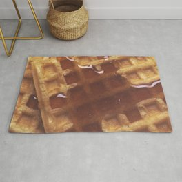 Waffles With Syrup Rug