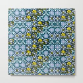 Geometric art pattern1 Metal Print