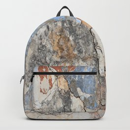 Flaking Weathered Wall rustic decor Backpack