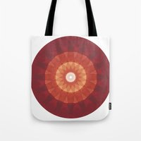kaleidoscope Tote Bags featuring kaleidoscope by UiNi