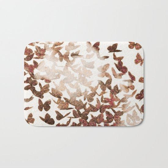 Butterfly People 3 Bath Mat